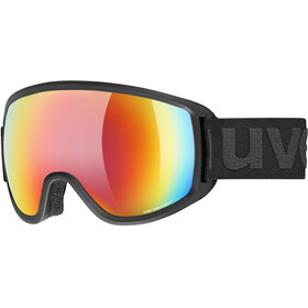 UVEX Topic FM sphere Goggles black mat/mirror rainbow